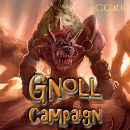 Gnoll Campaign for Warcraft III: Chapter 1 Logo